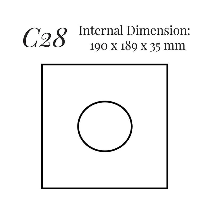 Square Collarette Case C28