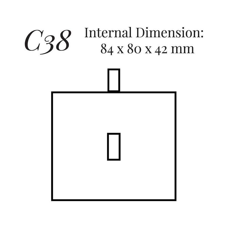 Small Brooch Case C38