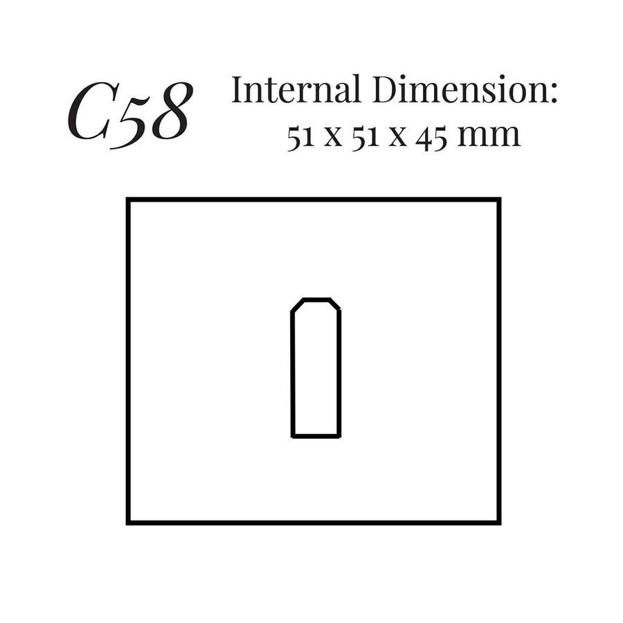 Large Single Ring Case C58