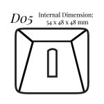 D05 Single Ring Case (Double door)