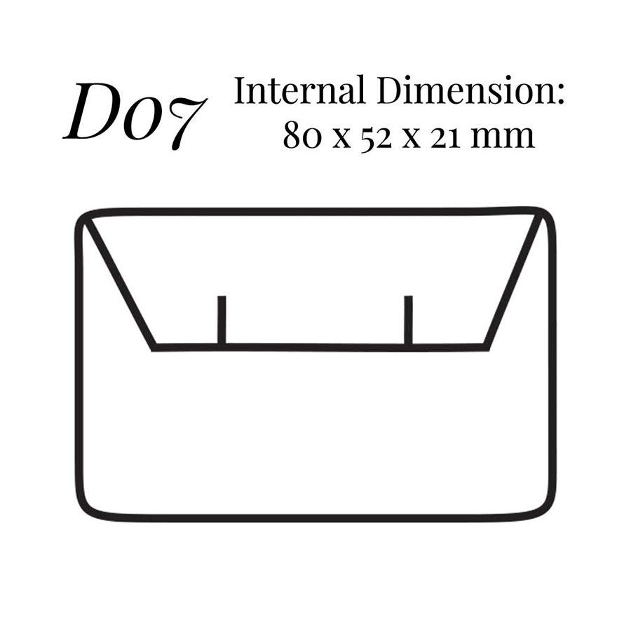 D07 Small Flap Earring Case