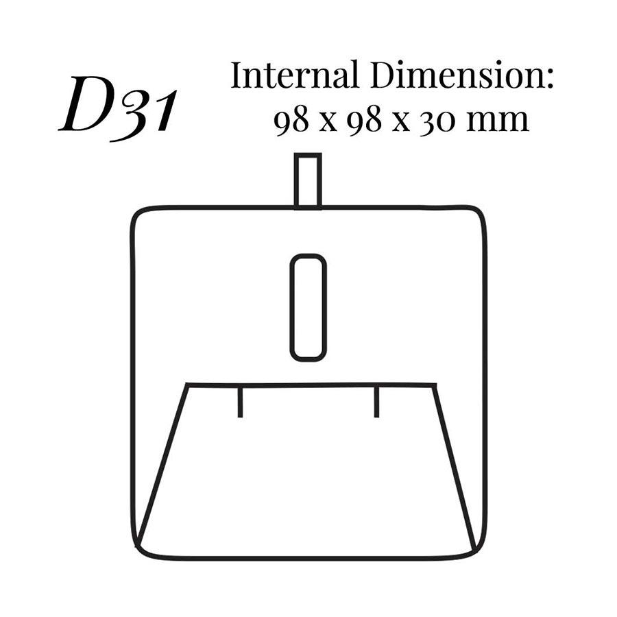 D31 Pendant/Earring Case