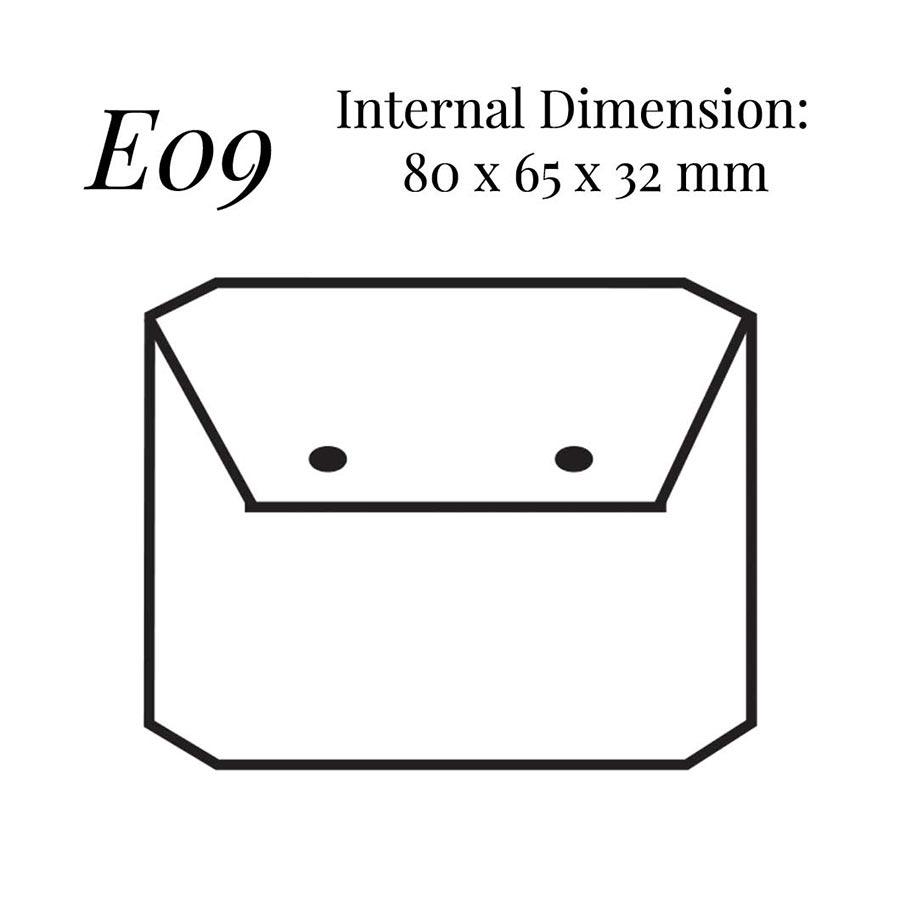 E09 Flap Earring Case