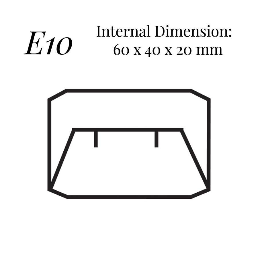 E10 Small Flap Earring Case
