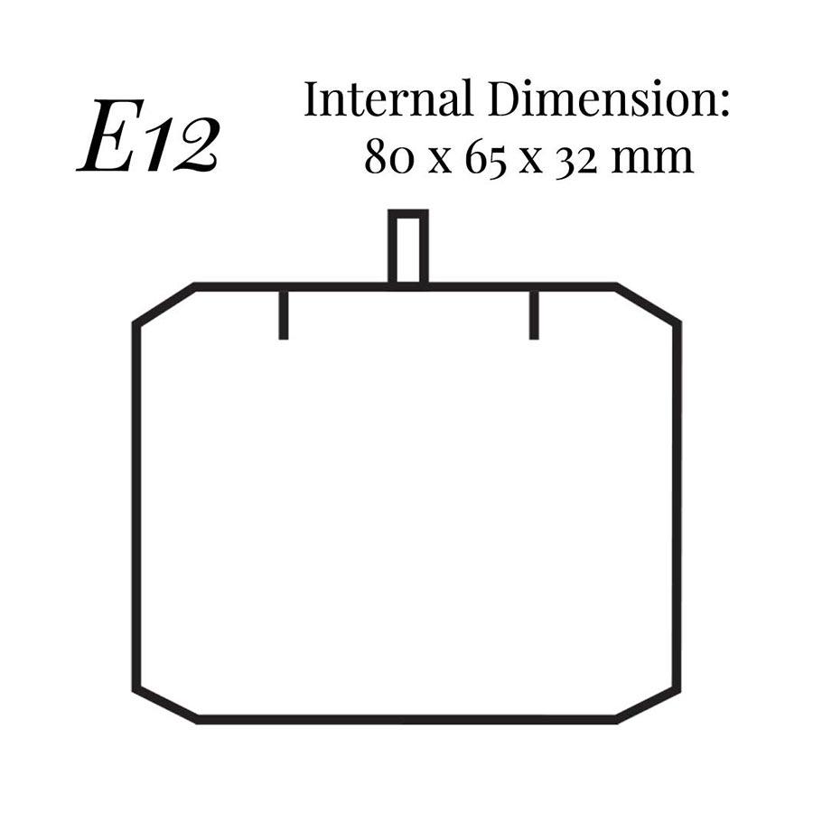 E12 Pendant Case