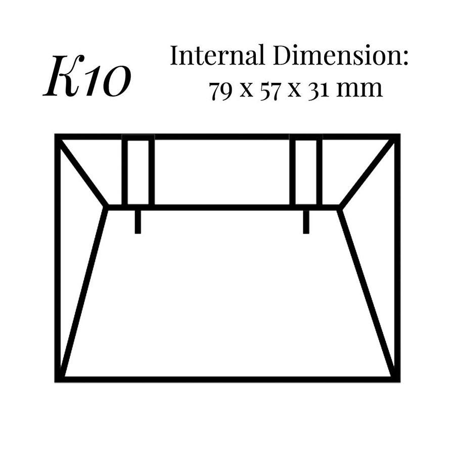K10 Large Wedge Earring Case