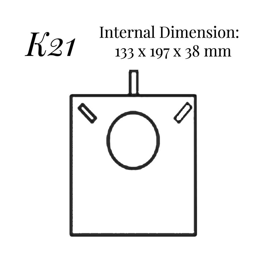 K21 Necklace Case