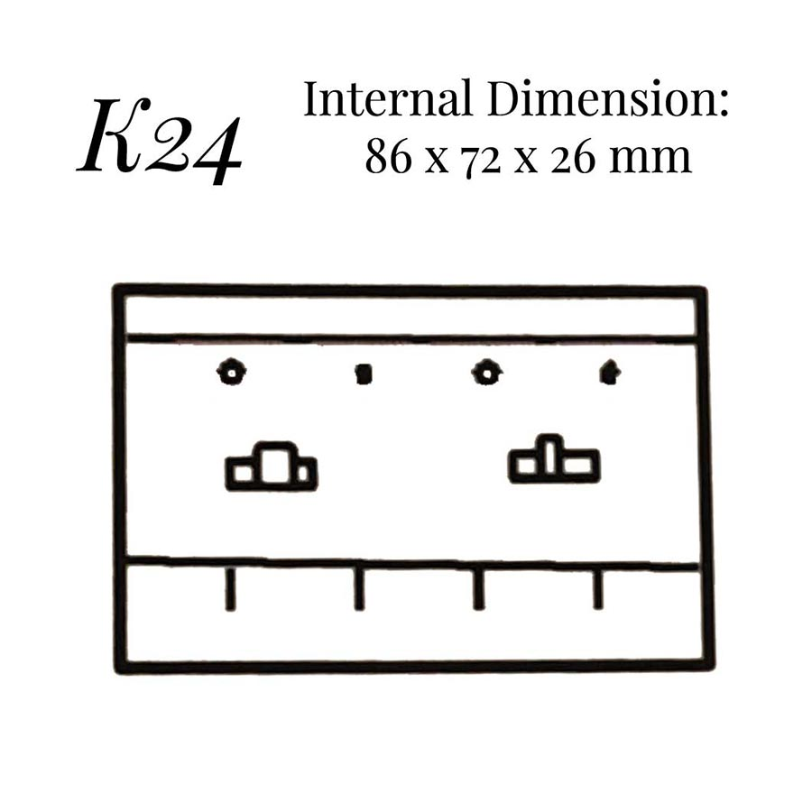 K24 Chain Link & Shirt Stud Case