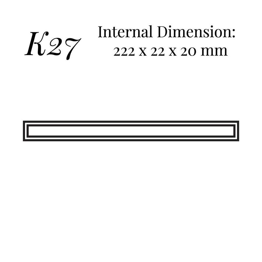 K27 Narrow Bracelet Case