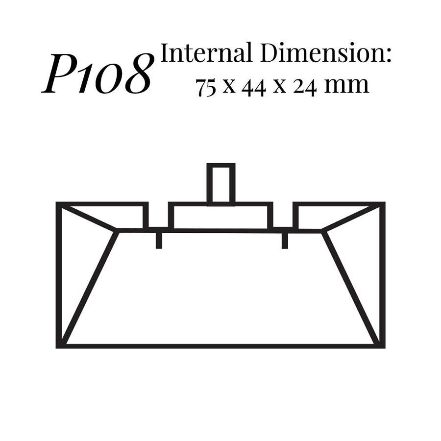 P108 Wedge Earring Case