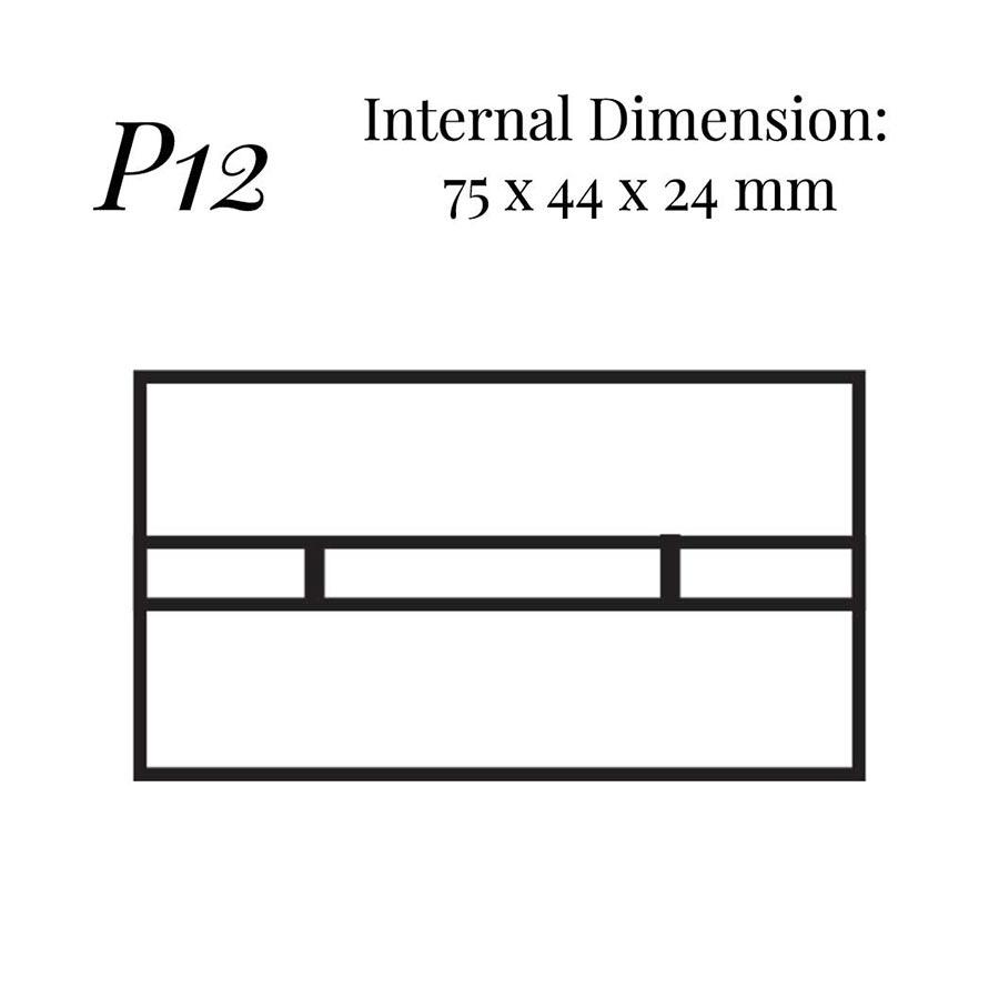 P12 Bar Cufflink Case