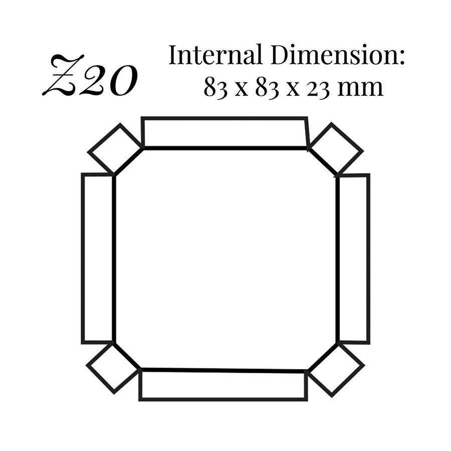 Z20 Pocket Watch Case