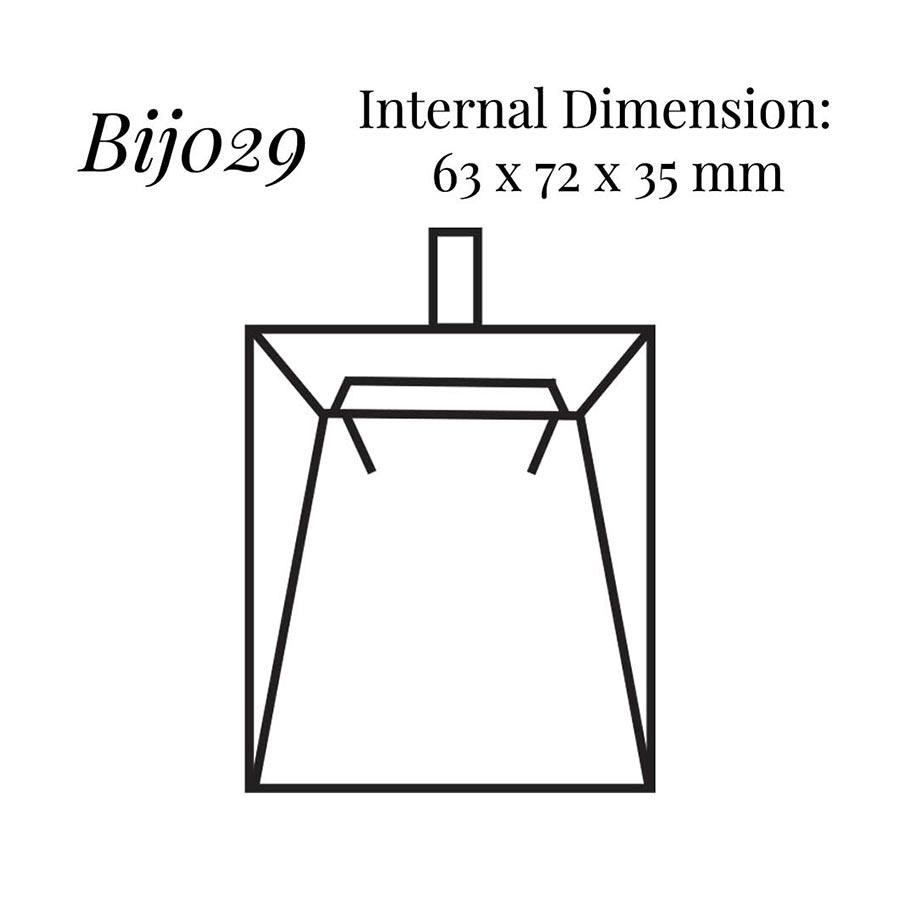 BIJ029 Pendant Wedge Case