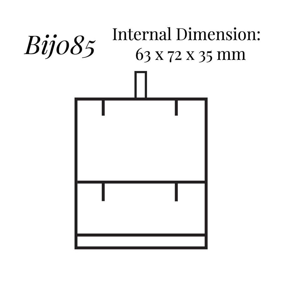 BIJ085 Pendant/ Flap Earring Case