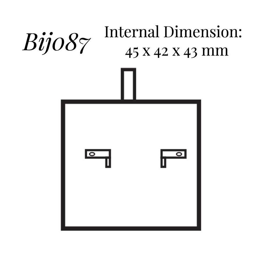 BIJ087 Small Earring Case