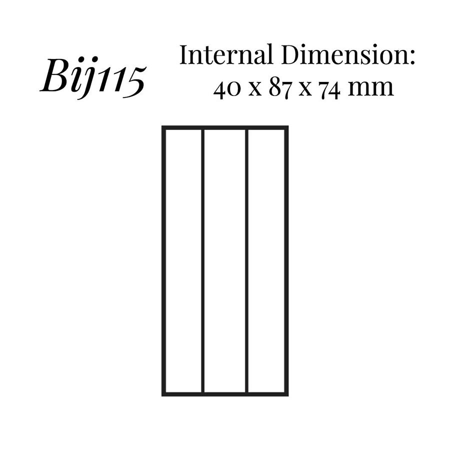 BIJ115 Extra Large Hoop Earring Case
