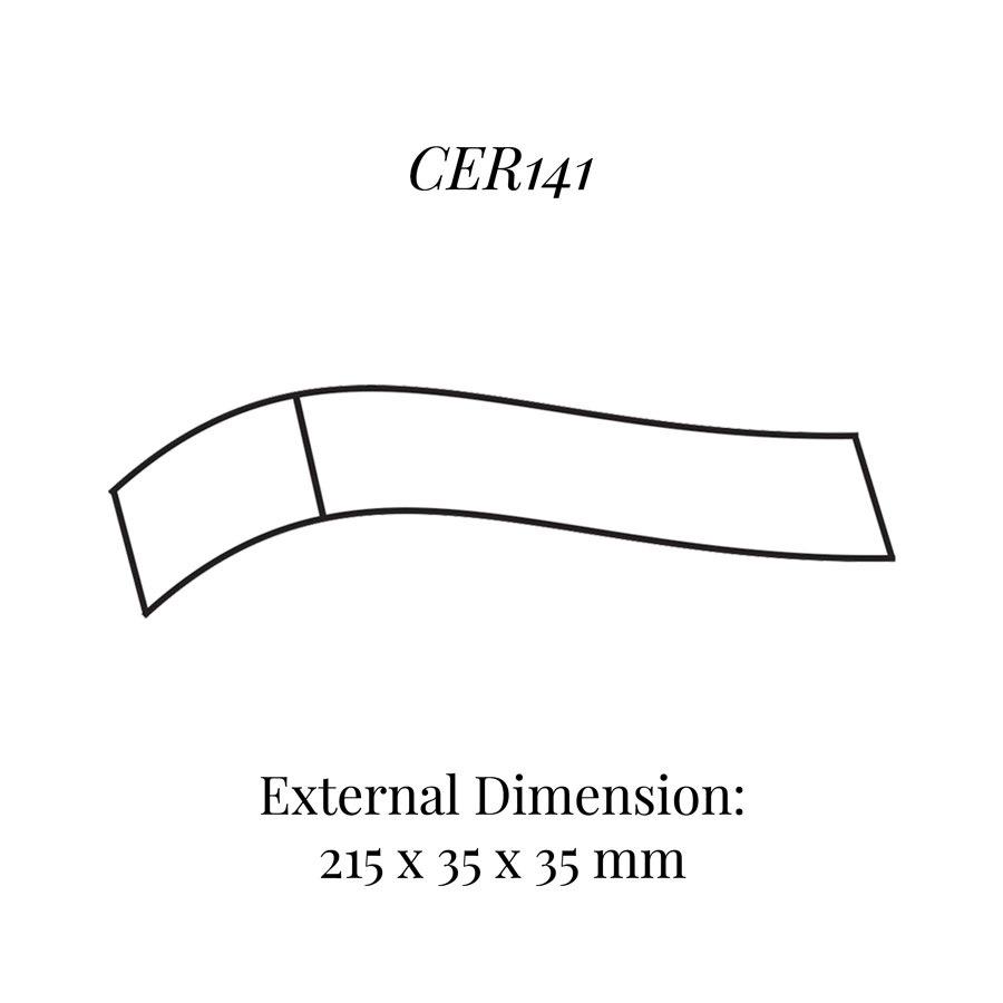 CER141 Curved Bracelet Display