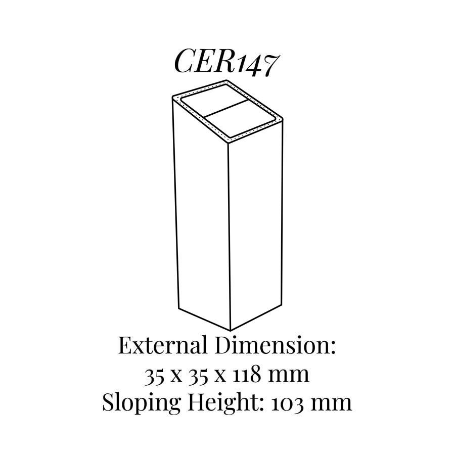 CER147 Tall Column Ring