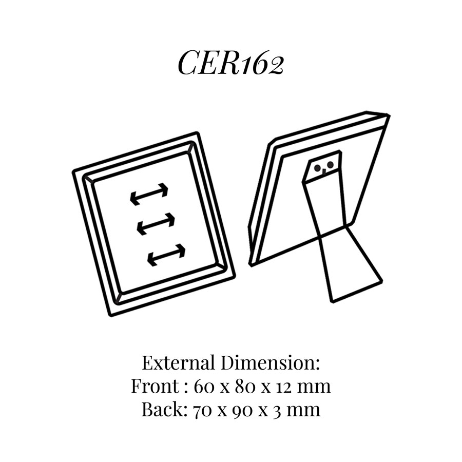 CER162 Three on Rings Stand