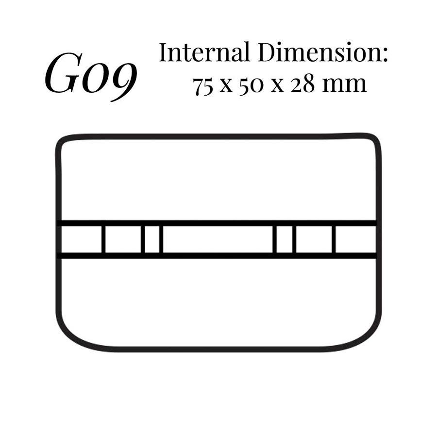 G09 Bar Cufflinks Case