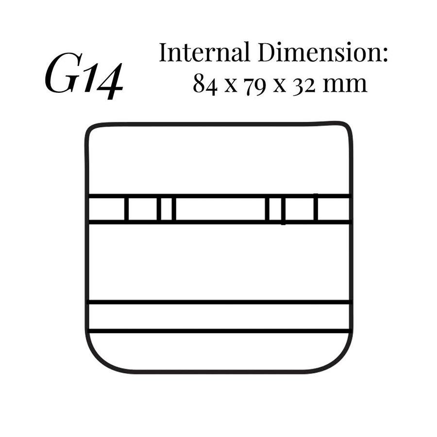 G14 Cufflinks & Stud Case