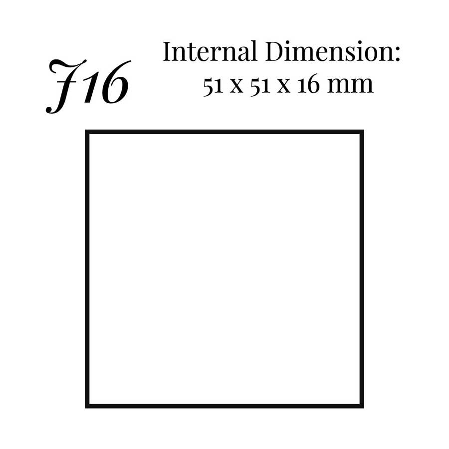 J16 Charms Two Piece Box