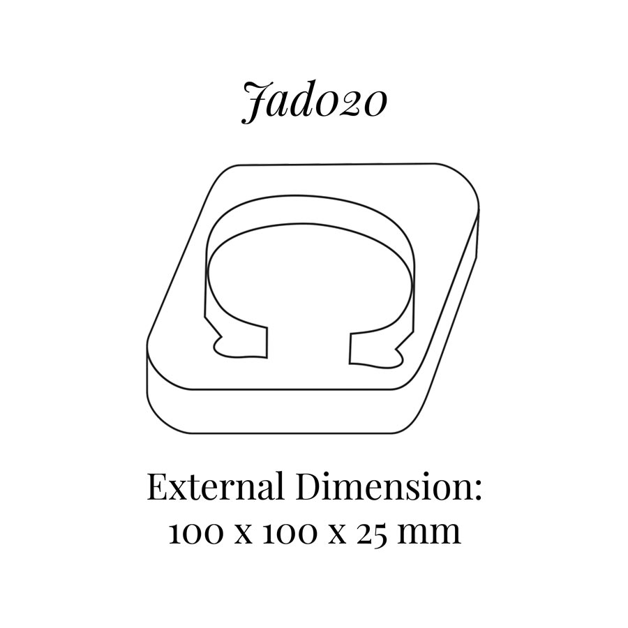 JAD020 Bangle Bracelet Display Block