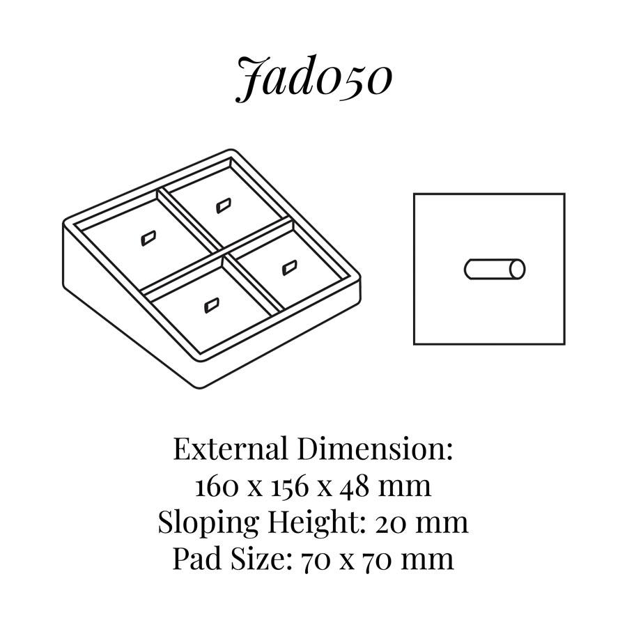 JAD050 Four Pieces Brooch Display