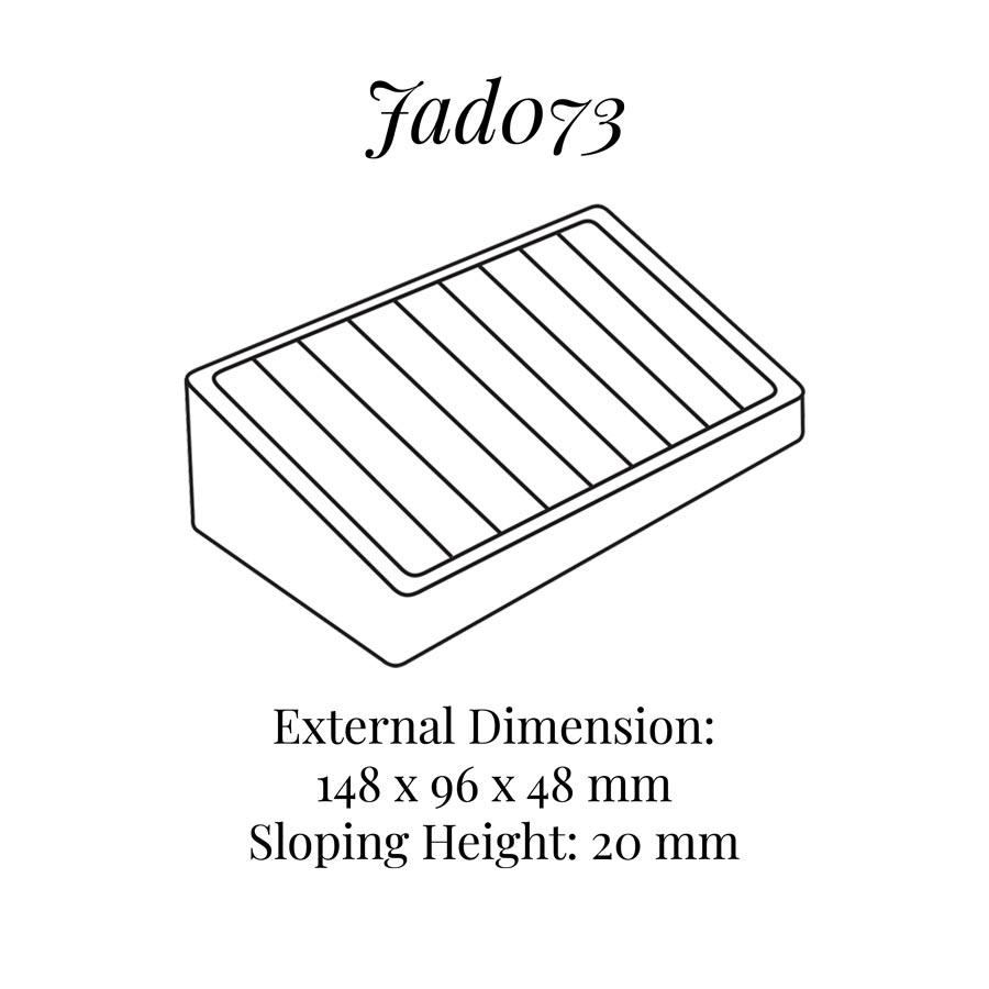 JAD073 Eight Hoop Bangle Display