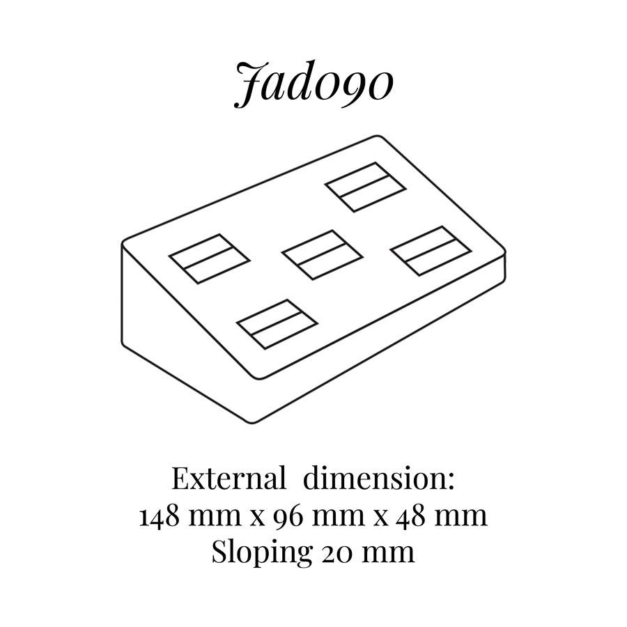 JAD090 Five on Rings Display Block