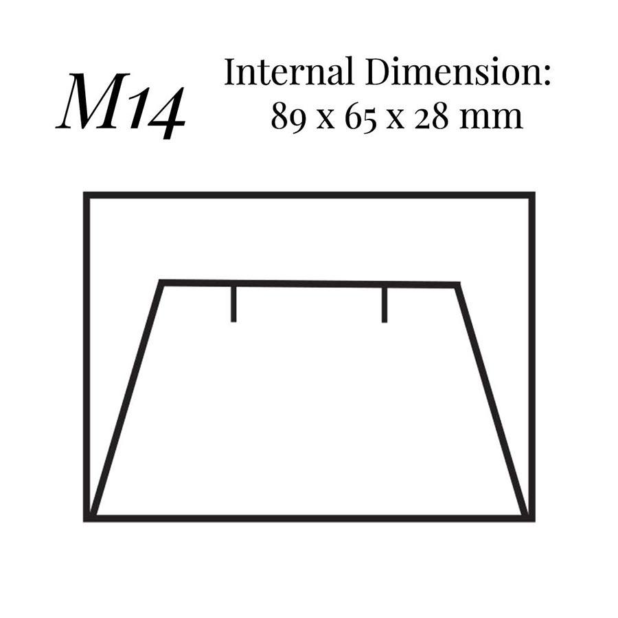 M14 Large Flap Earring Case