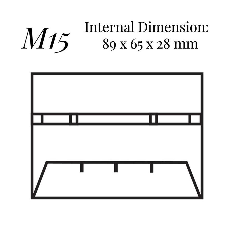 M15 Cufflink & Shirt Stud Case