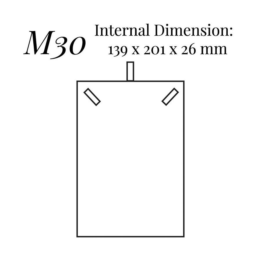 M30 Necklace Case (Double Door)
