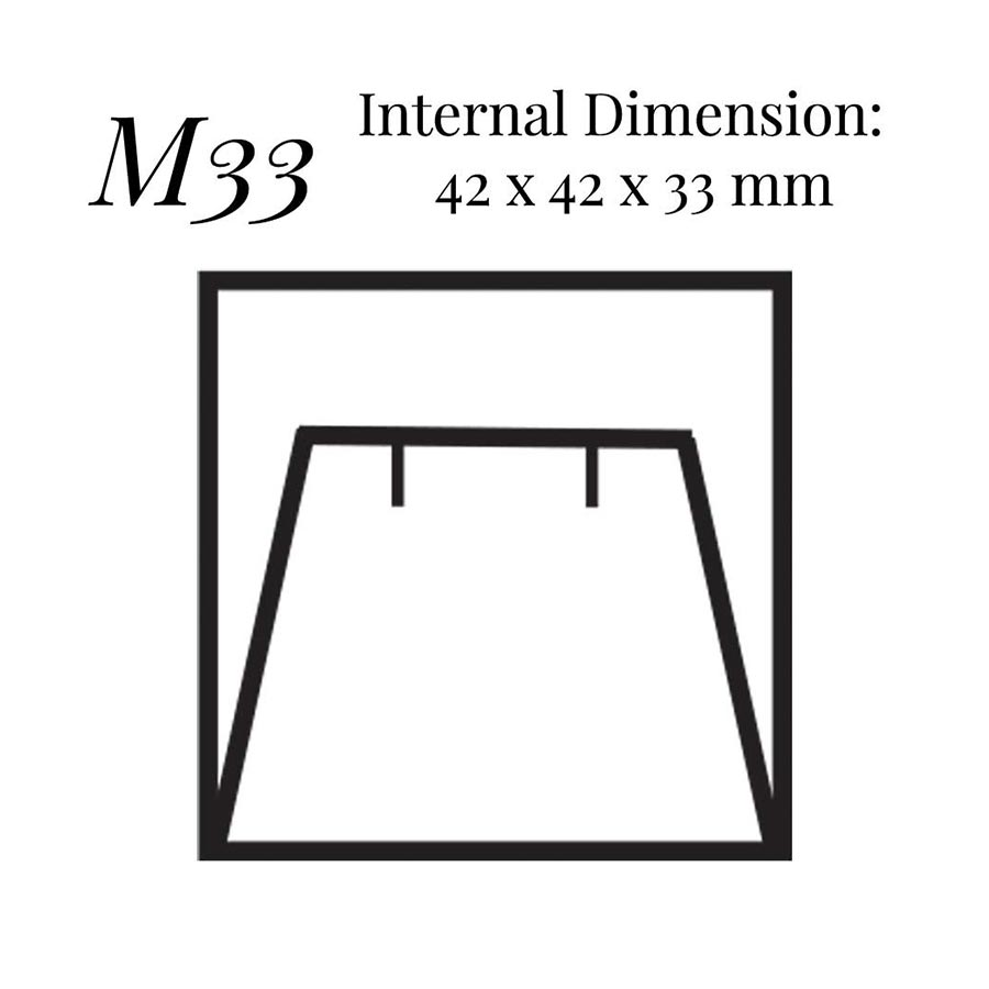 M33 Stud Flap Earring Case