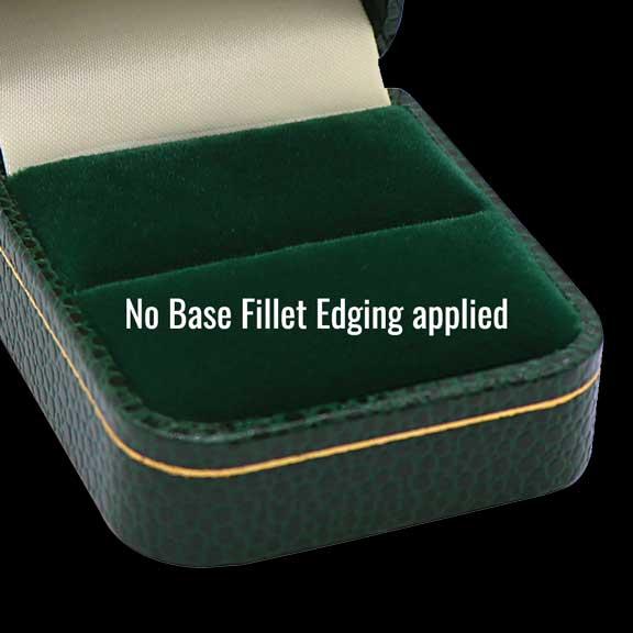NO inside base fillet edging