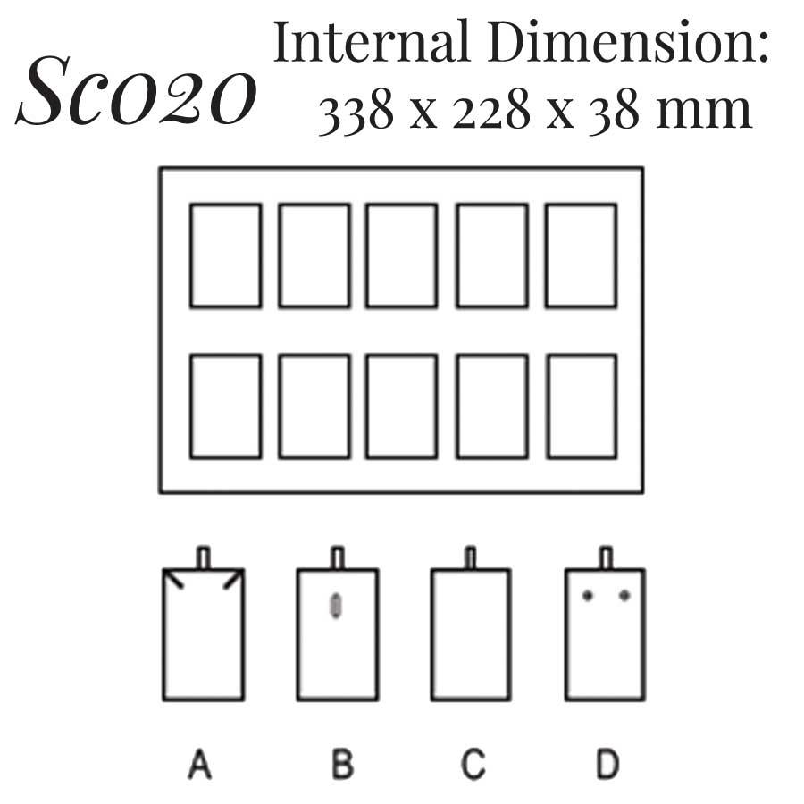 SC020: 10 on Pendant Case