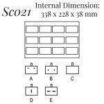 SC021: 12 on Brooch Case