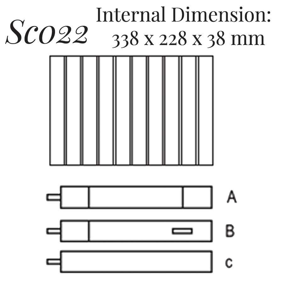 SC022: 10 on Bracelet Case