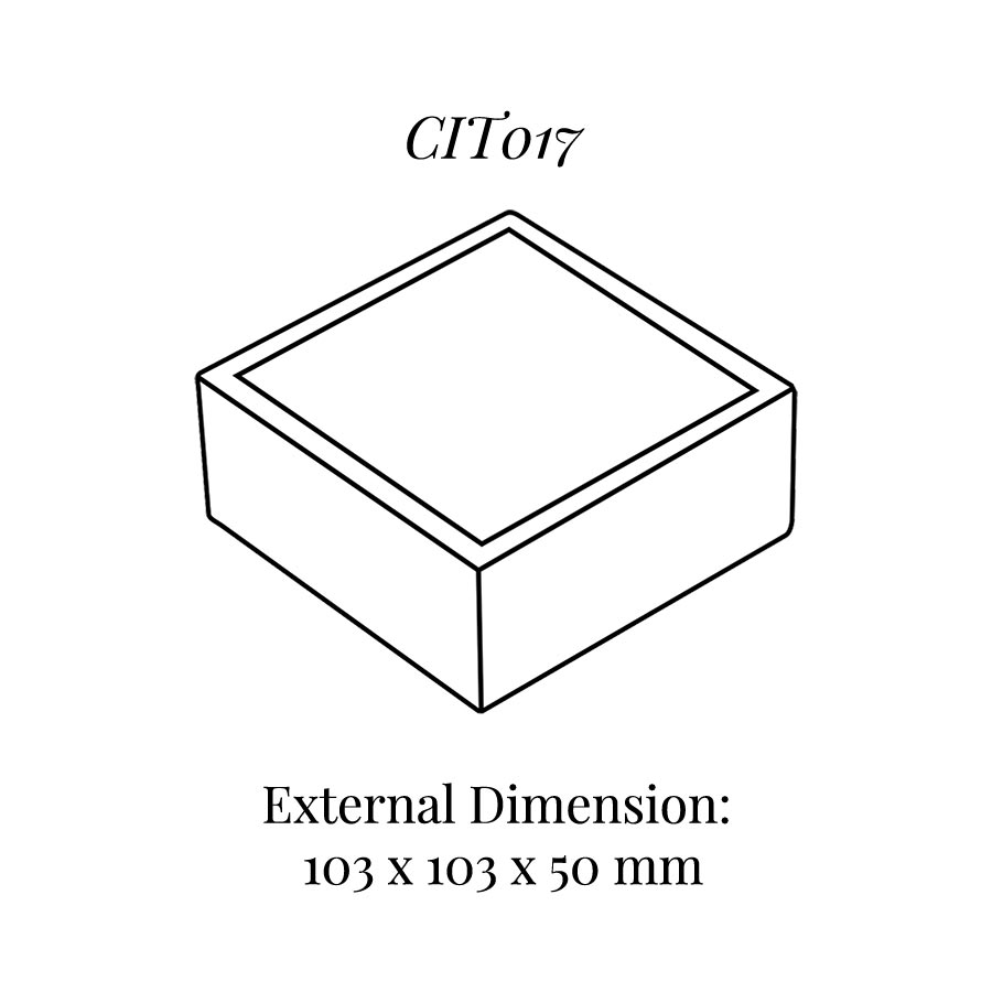 CIT017 Square Base Block