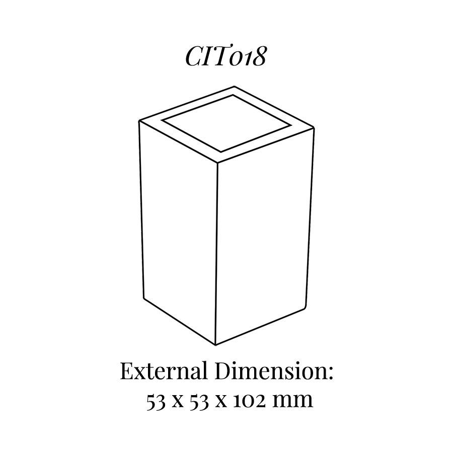CIT018 Square Base Block