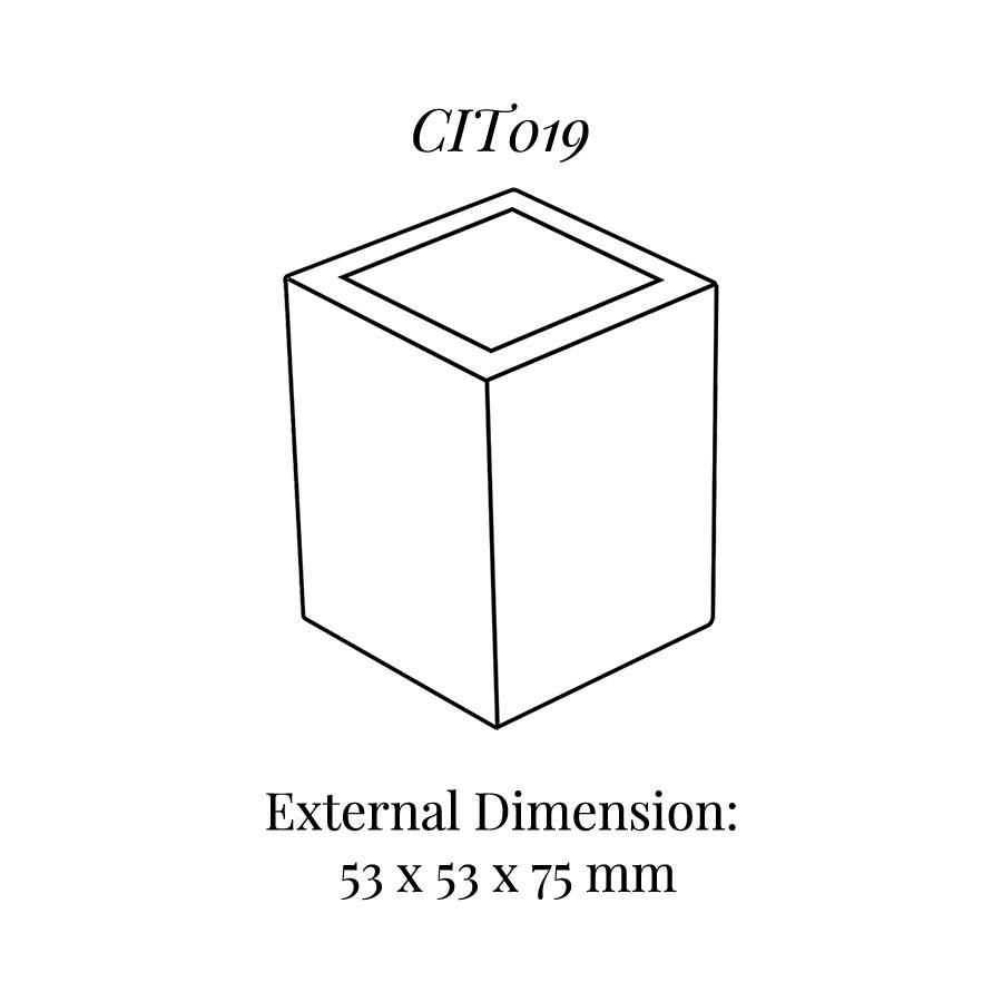 CIT019 Square Base Block
