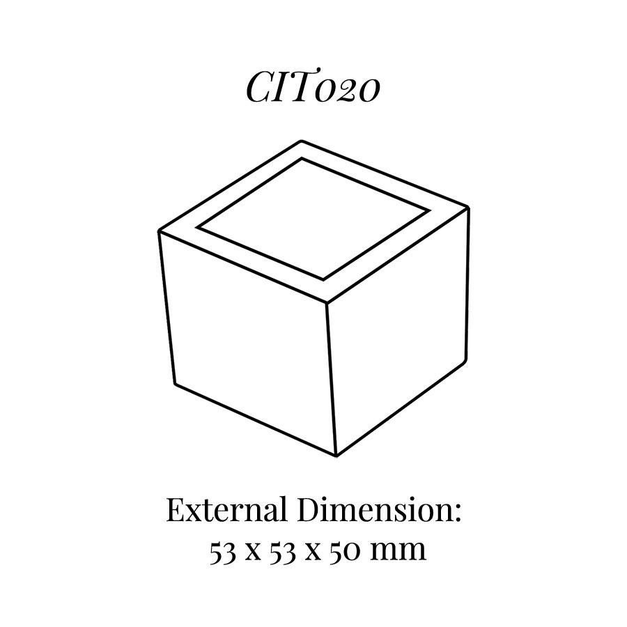 CIT020 Square Base Block