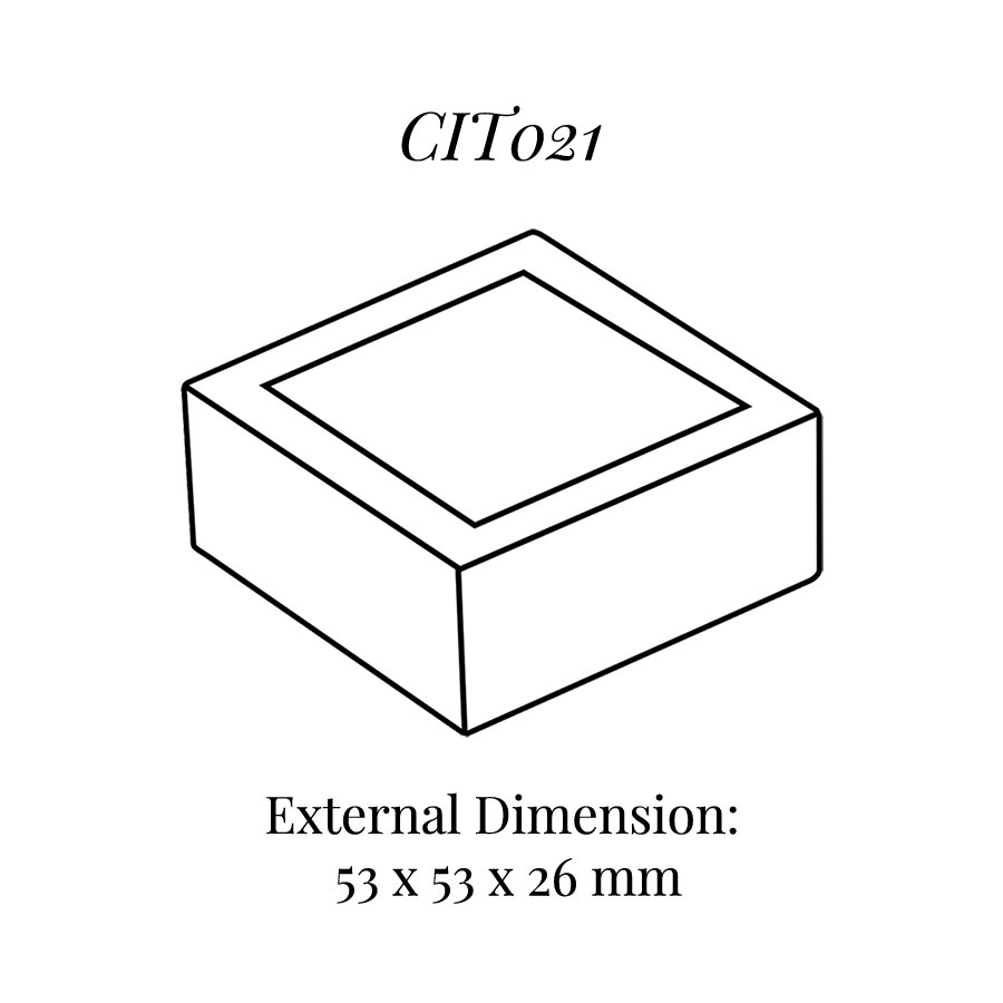 CIT021 Square Base Block