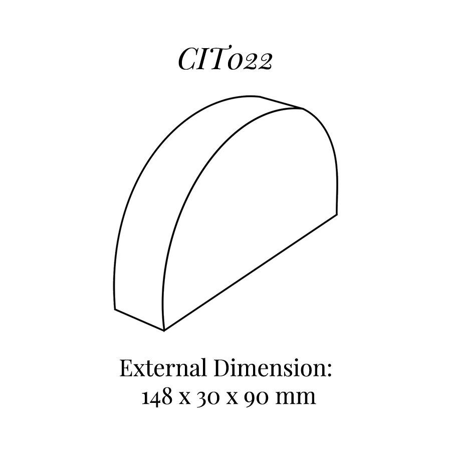 CIT022 Curved Bracelet Display Block