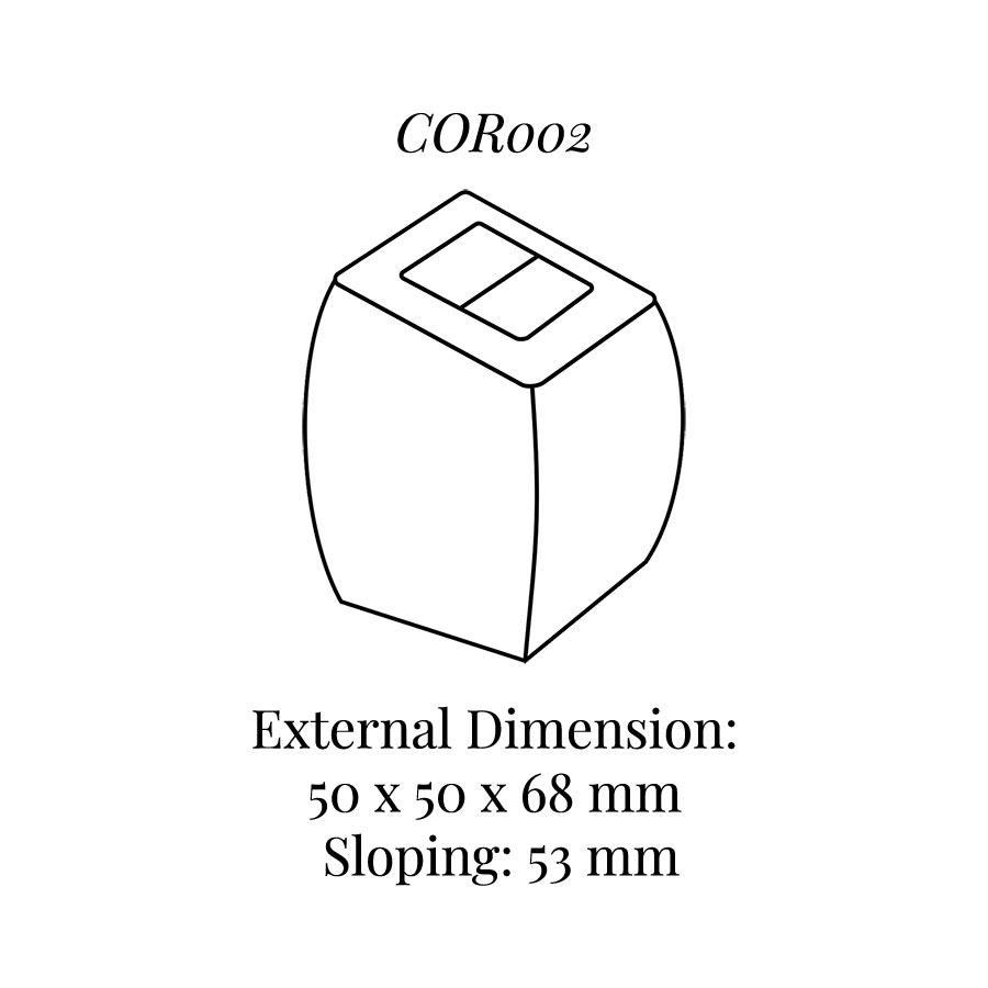 COR002 Medium Ring Column Soft Roll
