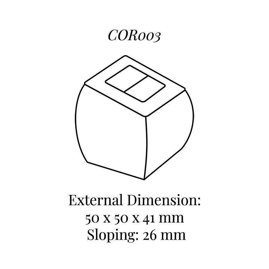 COR003 Small Ring Column Soft Roll
