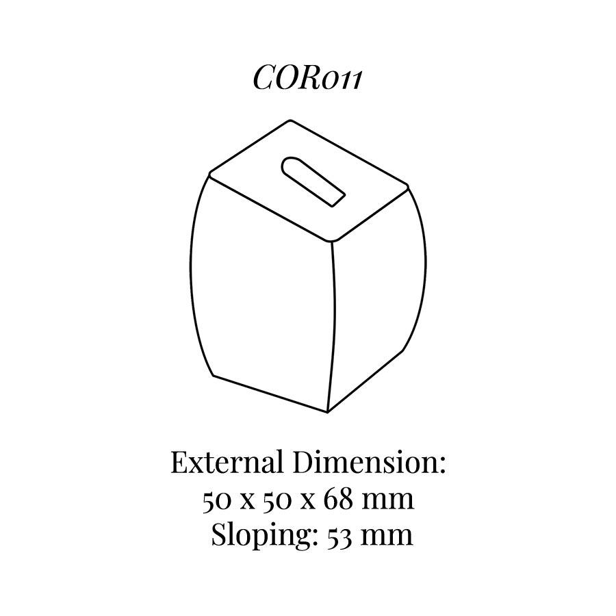 COR011 Medium Ring Column with Clip
