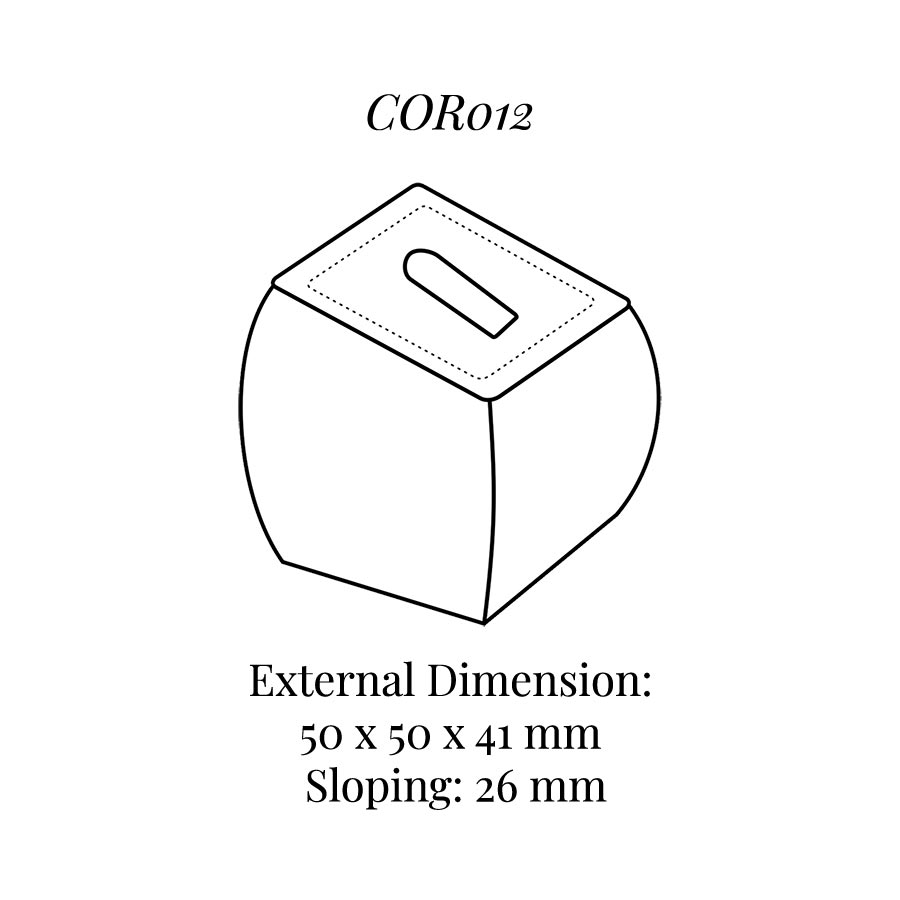 COR012 Small Ring Column with Clip
