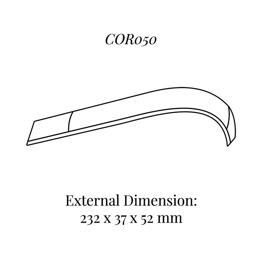 COR050 Curved Bracelet Display