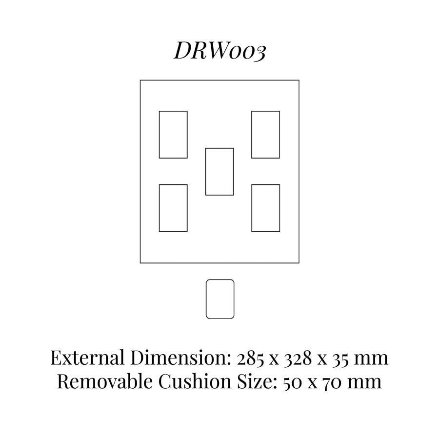DRW003 Watch Cushion Drawer Insert